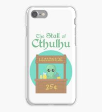 The Stall of Cthulhu Lime 4 iPhone Case/Skin