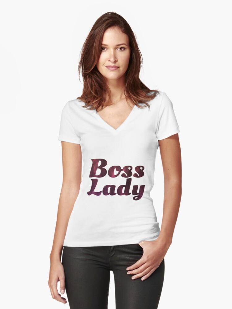 052dccf12 Boss Lady in Cursive Galaxy