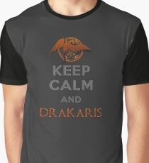 Keep calm and Drakaris Graphic T-Shirt