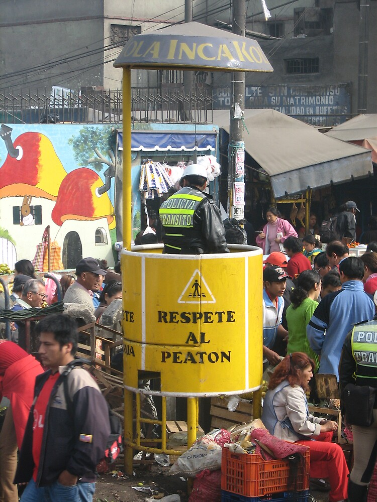 Policia Transito - Lima, Peru by katbyrd48