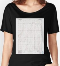 USGS TOPO Map Colorado CO Sunnydale 234660 1949 24000 Women's Relaxed Fit T-Shirt
