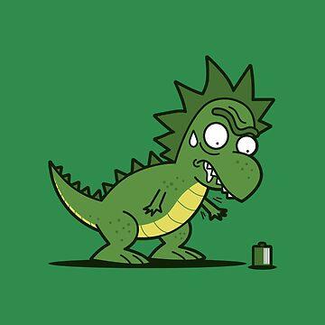 Tyrannosaurus Ricks by BoggsNicolasArt