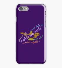 Aladdin songs iPhone Case/Skin