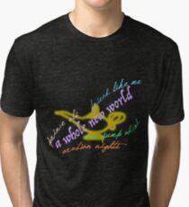 Aladdin songs Tri-blend T-Shirt