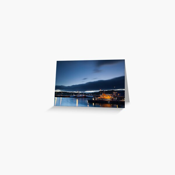 lochinver harbour Greeting Card