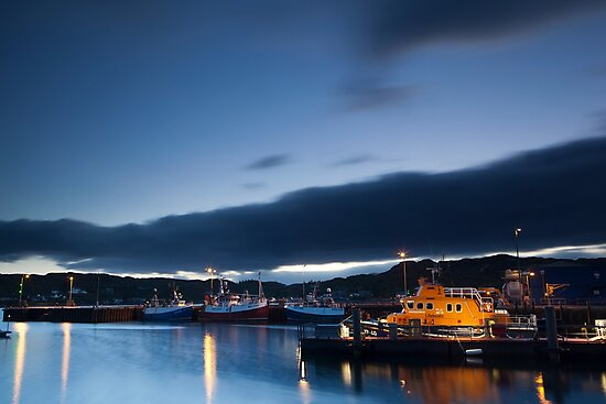 lochinver harbour by codaimages