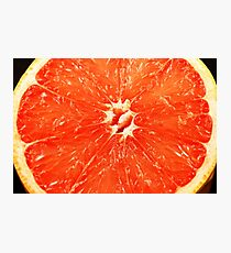 A close up image of citrus fruit Photographic Print