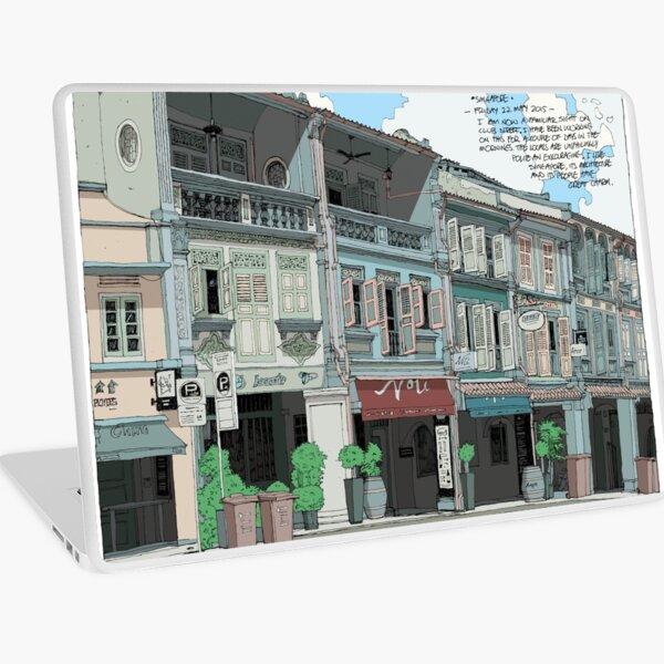 Singapore Street heritage Laptop Skin