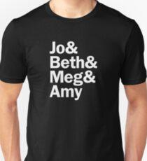 Little Women Characters | White T-Shirt