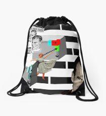 paradoxical jet fuel Drawstring Bag