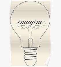 Imagine John Lennon Drawing Posters