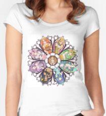 Eevee Evolution Noveau Women's Fitted Scoop T-Shirt
