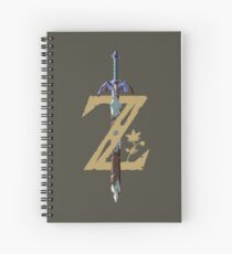 Master Sword Spiral Notebook