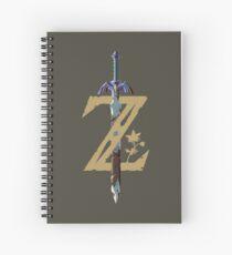 Cuaderno de espiral Espada Maestra