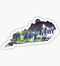 go big blue uk Sticker