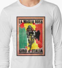 GIRO d ITALIA: Vintage La Maglia Rosa Print T-Shirt