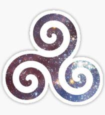 Celtic Spiral Sticker