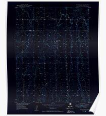 USGS TOPO Map Colorado CO Sunnydale 402120 1949 24000 Inverted Poster