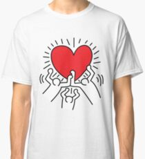 Keith Haring Love Falsettos Classic T-Shirt