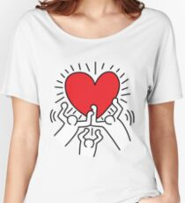 Keith Haring Love Falsettos Women's Relaxed Fit T-Shirt