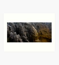 Pancake Rocks, New Zealand Art Print