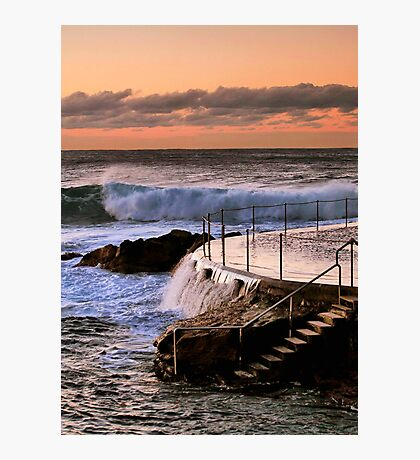 Sunrise at Bronte Beach, NSW Photographic Print
