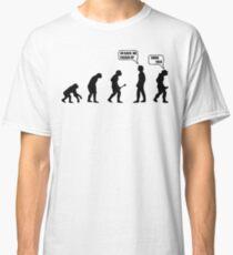Tshirt Go Back Evolution swag Classic T-Shirt