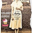 KELKIRK ST cupcake by Lesley A Marsh