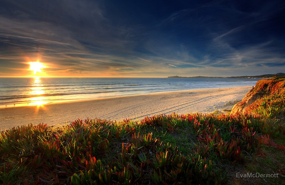 Half Moon Bay Sunset by EvaMcDermott