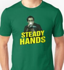 NIGHTCRAWLER - STEADY HANDS  T-Shirt