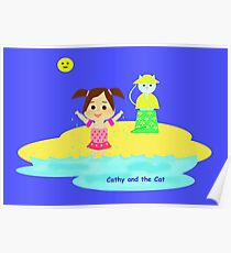 Cathy and the Cat - Fresh Water Poster