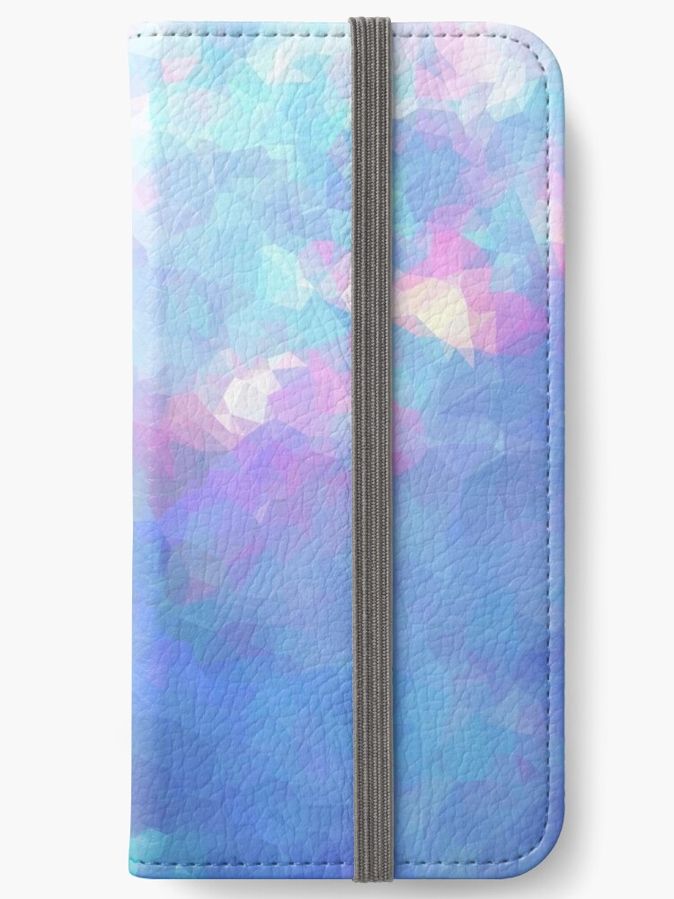 official photos d2905 e05a0 'Shaka Opal Graphic Abstract Multi Color Cubizm' iPhone Wallet by  MadEDesigns