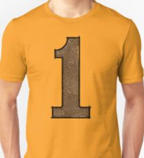 Number One - Simple Fun Unisex T-Shirt