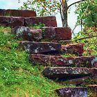 Old Stone Steps by Masha-Gr