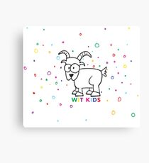 Wit Kids! Canvas Print