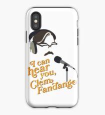 "Toast of London - ""I can hear you, Clem Fandango"" iPhone Case"