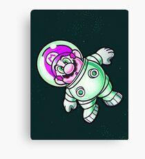 Space Mario Canvas Print