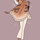 Owl Girl - Barn Owl by straungewunder