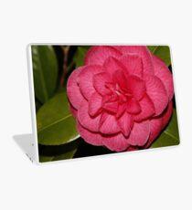 Macro pink flower Laptop Skin
