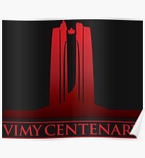 Vimy Centenary Fade to Black Poster