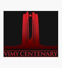 Vimy Centenary Fade to Black Photographic Print