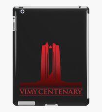 Vimy Centenary Fade to Black iPad Case/Skin