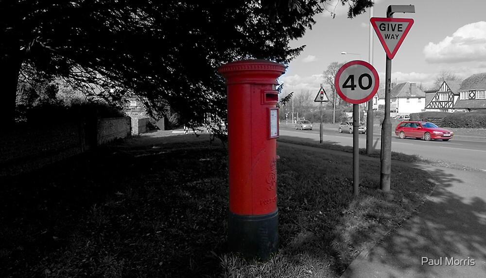 seeing Red in Polegate by Paul Morris