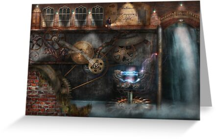 Steampunk - Industrial Society by Michael Savad