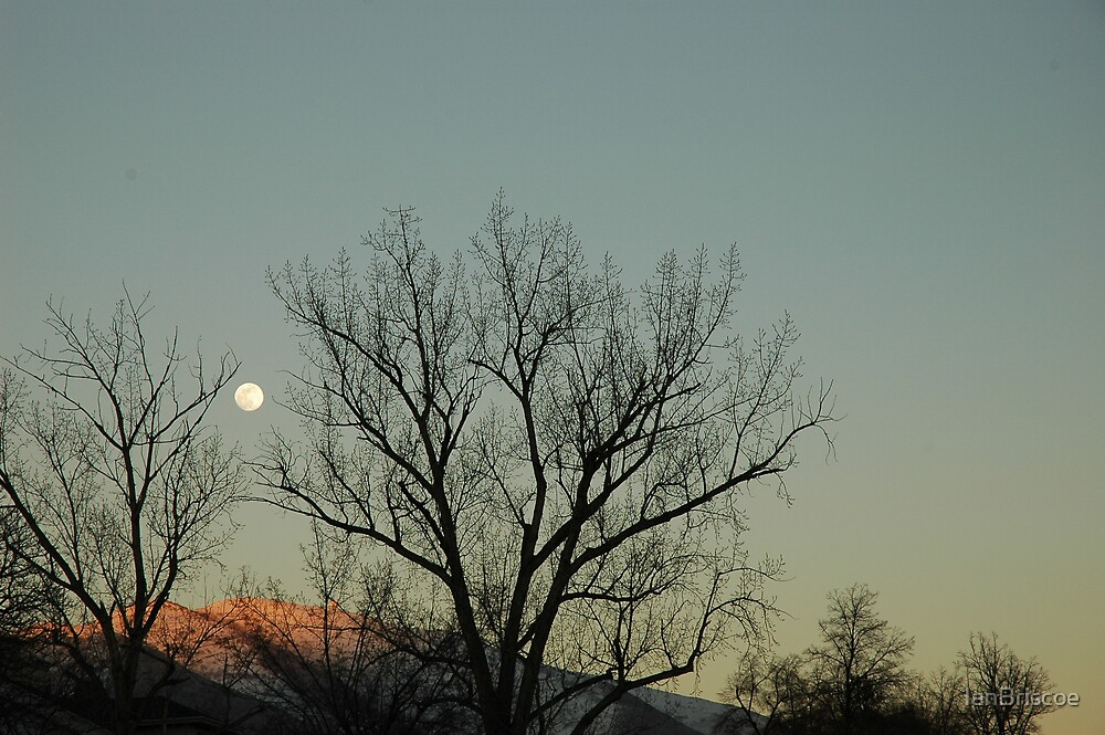 Wasatch Moon by IanBriscoe