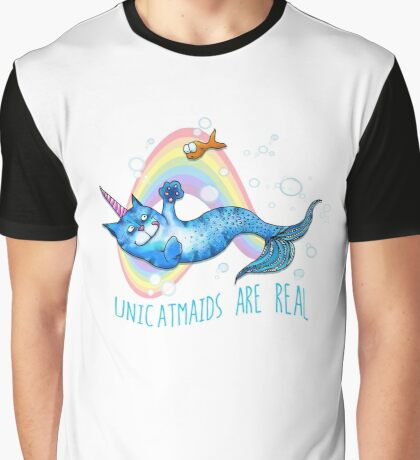 Unicatmaids are real Graphic T-Shirt