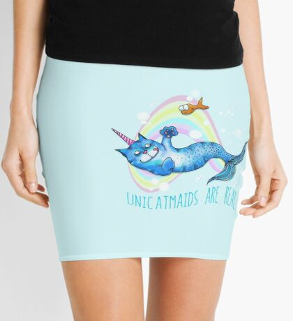 Unicatmaids are real Mini Skirt