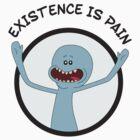 Mr. Meeseeks Existence Is Pain by TaliSora