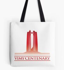 Vimy Centenary Flag Transition Tote Bag