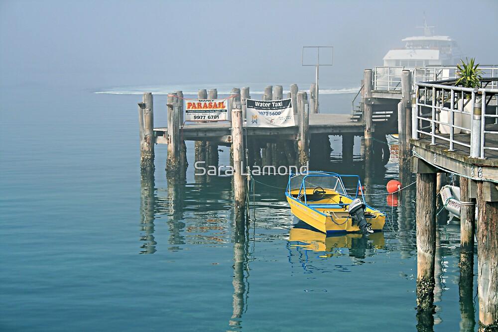 Yellow boat by Sara Lamond